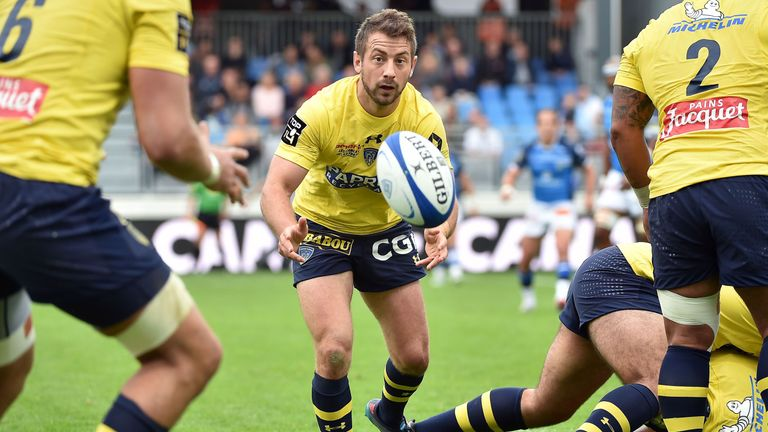 Greig Laidlaw joined Clermont from Gloucester last summer