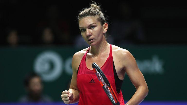 Simona Halep finished the season as the women's world No 1