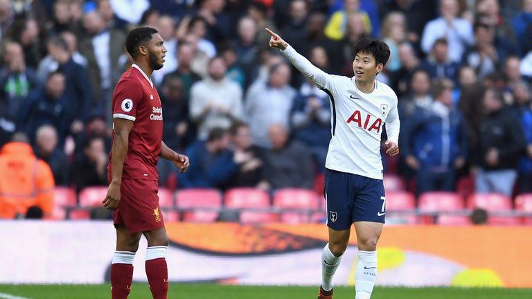 Tottenham's Heung-min Son scored twice for South Korea