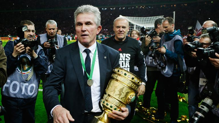 Heynckes replaces Carlo Ancelotti at the Allianz Arena