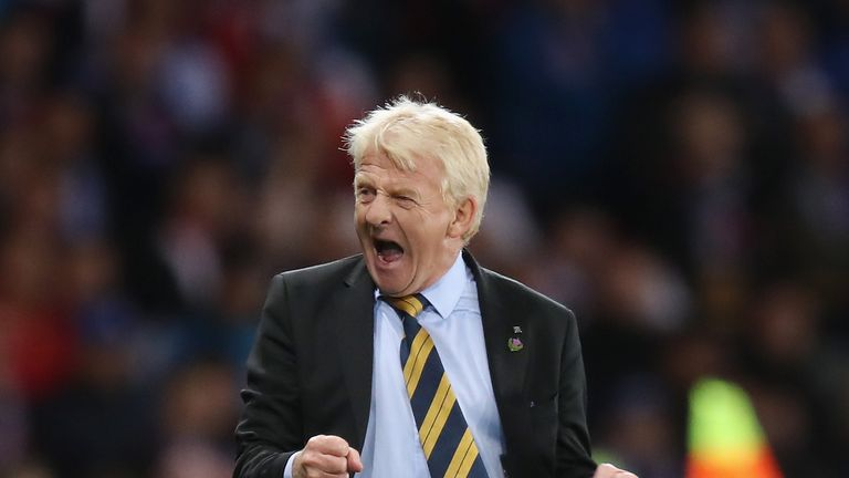 Strachan says he has made 'some magical memories' as Scotland boss