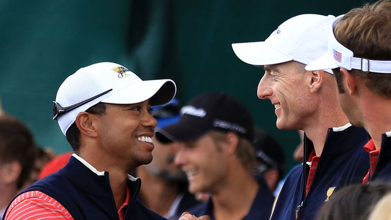 Tiger Woods stalks Conners
