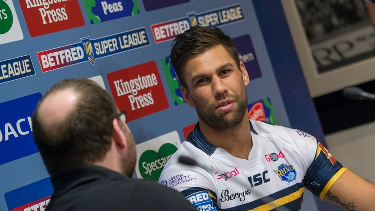 Joel Moon has scored 15 tries this season for Leeds Rhinos and set up nine