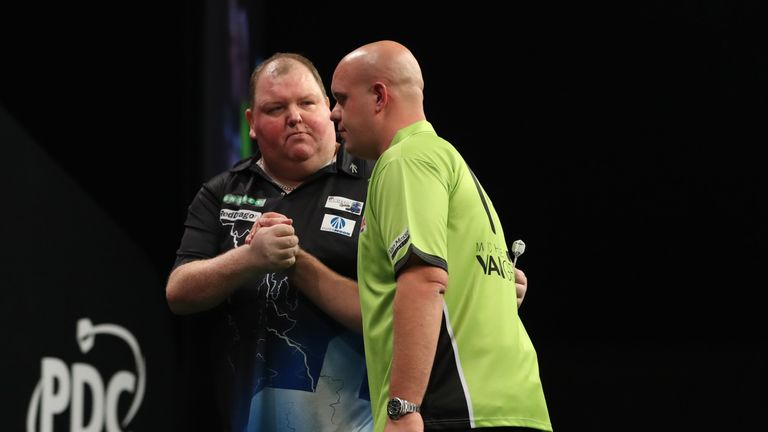 Henderson's 2-1 Grand Prix success over Van Gerwen is undoubtedly the moment of his career so far