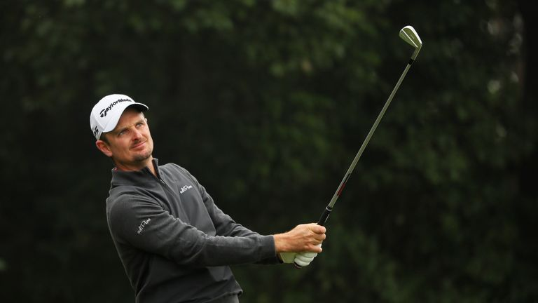 Rose posted five birdies in a seven-hole stretch from the 11th