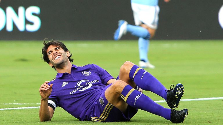 Kaka says he takes 'longer to recover' the older he gets