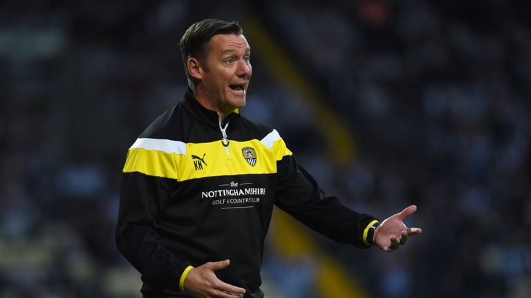 Kevin Nolan has steered Notts County to the top of the Sky Bet League Two table