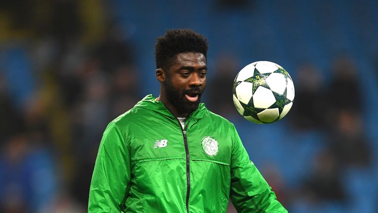 Kolo Toure was with Celtic for a year until the summer