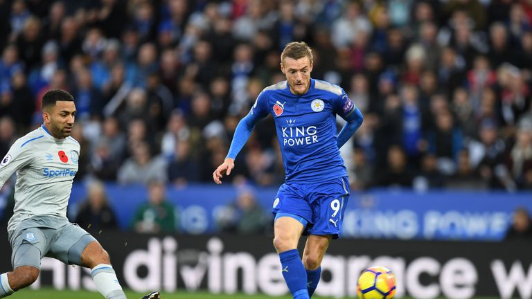 Vardy has joined the England squad having helped Leicester to four points from Claude Puel's first two games in charge