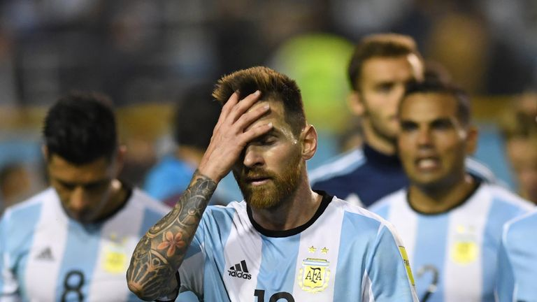 A World Cup without Lionel Messi is now a real possibility