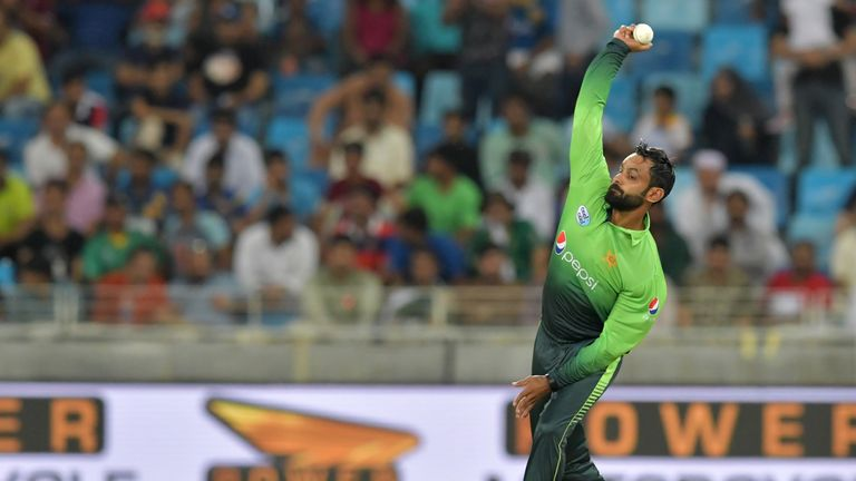 ICC suspends Hafeez again over illegal action
