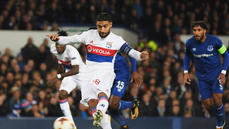 Barcelona have thrown their hat into the Nabil Fekir ring