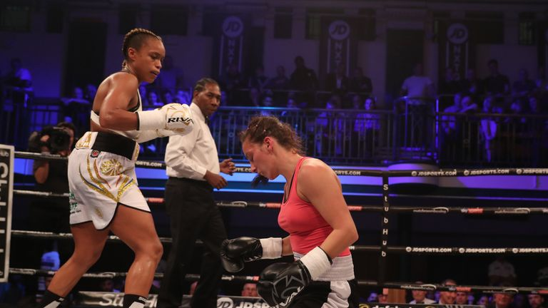 Natasha Jonas began her professional career with a win