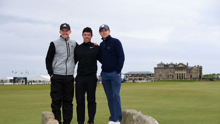 Connor Syme (L) made an impressive pro debut in Portugal
