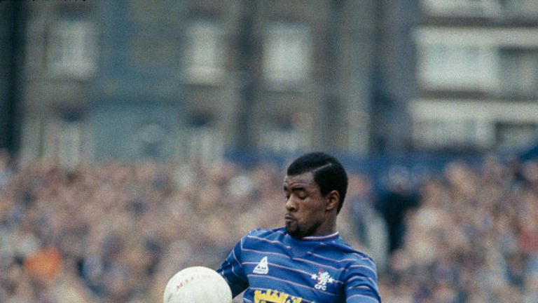 Canoville was Chelsea's first black footballer in 1981