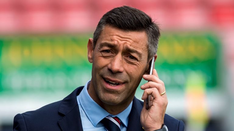 Rangers sacked Pedro Caixinha in October