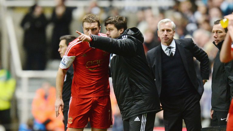 Mauricio Pochettino coached Rickie Lambert at Southampton from January 2013 to May 2014