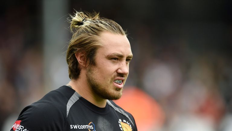 Exeter wing Jack Nowell will miss all of England's autumn internationals
