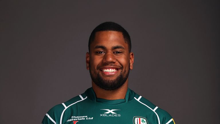 London Irish wing Joe Cokanasiga was named in Jones' training squad