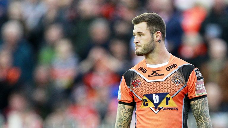 Zak Hardaker missed the Grand Final after failing a drugs test