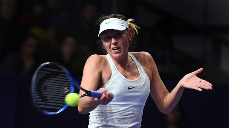 Maria Sharapova has pulled out of the Dubai Duty Free Tennis Championships due to injury