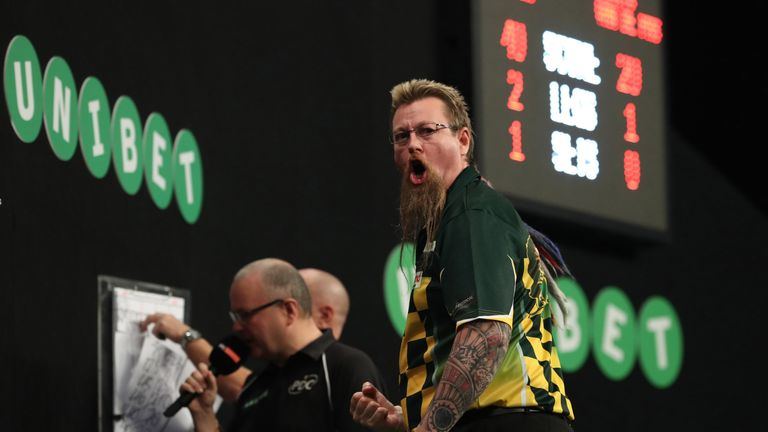 Simon Whitlock bagged a first major televised semi-final since the 2014 Matchplay with a dominant display