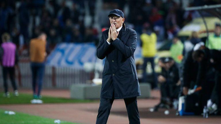 Slavoljub Muslin leaves role as Serbia head coach