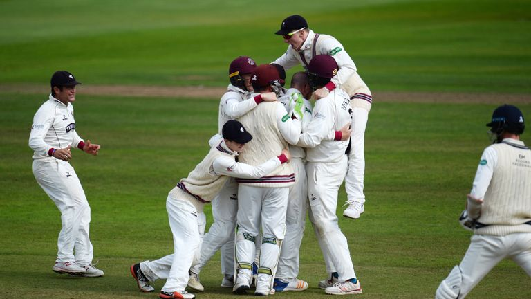 Somerset beat Middlesex in the final match of the season but the two counties could yet be locked in a legal fight
