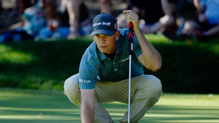 Brendan Steele is one shot off the lead at the Safeway Open