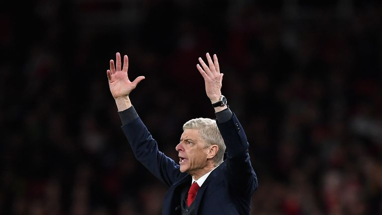 Arsene Wenger says he will sit down every year to review his position as Arsenal manager