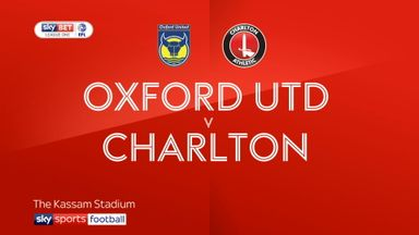 Oxford 1-1 Charlton