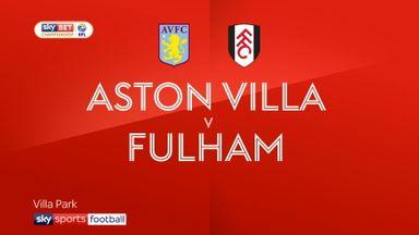Aston Villa 2-1 Fulham