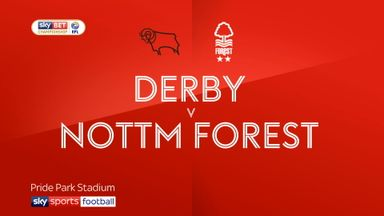 Derby 2-0 Nottingham Forest