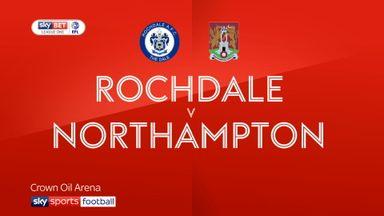 Rochdale 2-2 Northampton