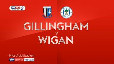 Gillingham 1-1 Wigan