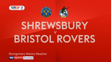 Shrewsbury 4-0 Bristol Rovers