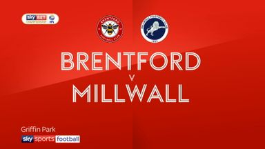 Brentford 1-0 Millwall