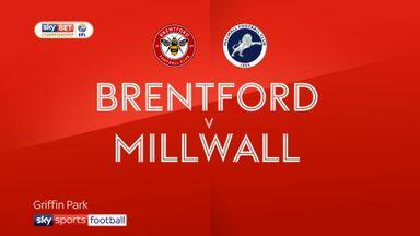 Brentford 1-0 Millwall