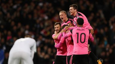 Scotland will face Costa Rica, Hungary, Peru and Mexico in 2018