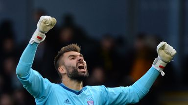 Bartosz Bialkowski has ambitions of playing in the Premier League