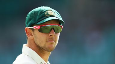 Josh Hazlewood has confirmed he is behind schedule in his recovery from a side strain