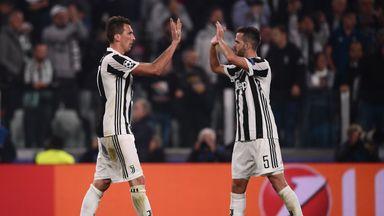 Both Mario Mandzukic and Miralem Pjanic were on target for Juventus on Sunday