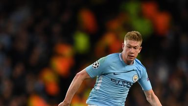 Kevin De Bruyne says he is not 'stressing' about a new Manchester City contract