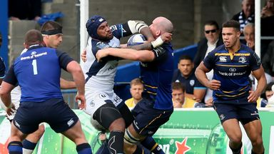 Leinster struggled to contain Montpellier wing Nemani Nadolo, but they still claimed a Champions Cup win