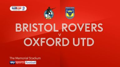 Bristol Rovers 0-1 Oxford Utd