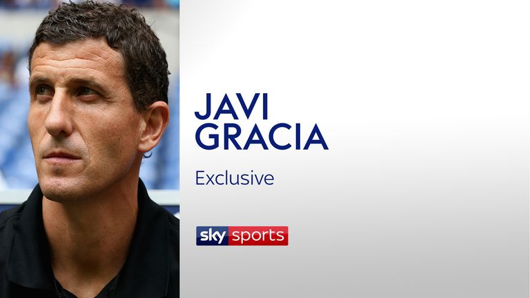 Former Malaga and Osasuna coach Javi Gracia speaks exclusively to Sky Sports