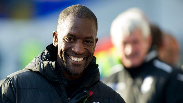 Charlton Athletic's manager Chris Powell prior to the the Sky Bet Championship match against Birmingham City