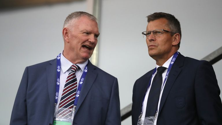 FA chairman Greg Clarke (left) and chief executive Martin Glenn will face parliamentary questions on Wednesday
