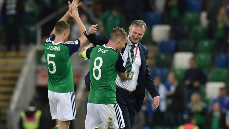 Michael O'Neill will be hoping for a favourable draw on Tuesday