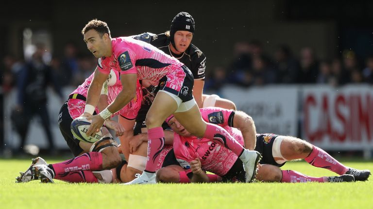 Nic White faced his formed club Montpellier in Round 2 of the Champions Cup
